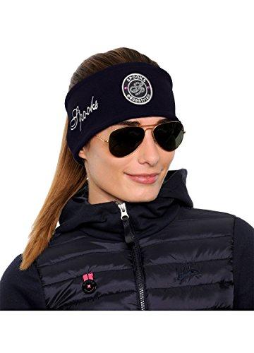Fleece Headband Sequin - DE (Farbe: Navy; Größe: OneSize)