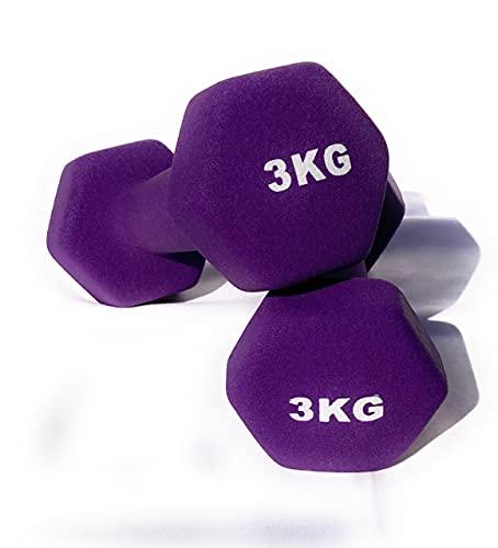 Haltères en néoprène Gym et entraînement à la maison Fitness...
