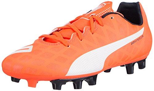 PUMA Evo Speed 5.4 FG Jr, Scarpe da Calcio Unisex-Kids, Arancione, 38 EU