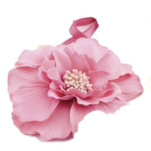 Grand motif de fleur rose bandeau élastique bande de Front – Autres Couleurs disponibles