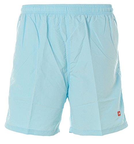 Shiwi Herren Badeshorts Boardshorts Badehose Swimshorts Shorts Reißverschluss Hellblau S