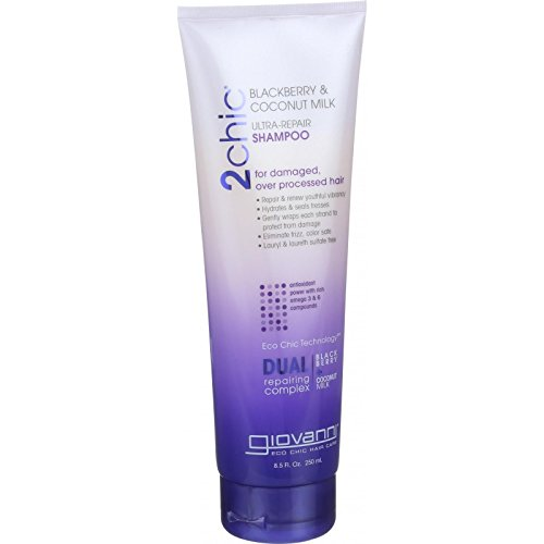 Giovanni Hair Care Products Shampoo 2chic Ultra Repair Blackberry And Coconut Milk 8.5 Oz