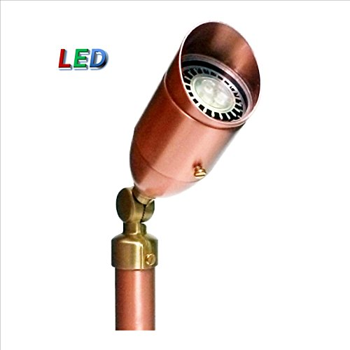 P.M. LIGHTING CS937-LED Professional Series Copper Bullet Light