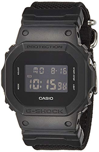 Casio DW-5600BBN-1 G-Shock Black Out Basic Digital Men039;s Watch (Nylon Band)