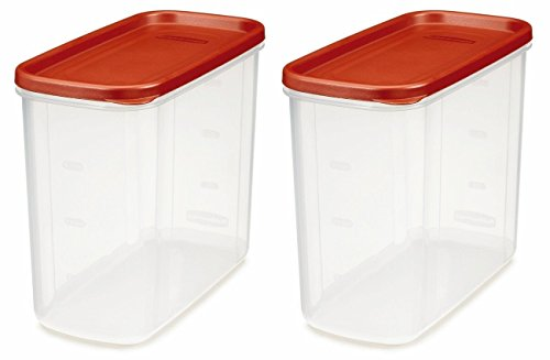 Discover Bargain Rubbermaid 071691688037 16-Cup Dry Food Container (Pack of 2), Clear
