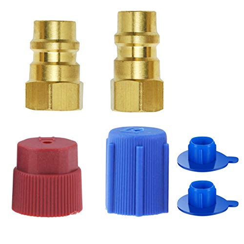 wadoy R12 to R134a Conversion Kit, R12 to R134a Retrofit Kit, R12 to R134a Adapter