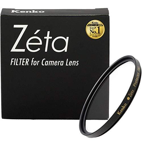 【Amazon.co.jp限定】Kenko レンズフィルター Zeta プロテクター 77mm レンズ保護用 レンズクロス・ケース付 390955