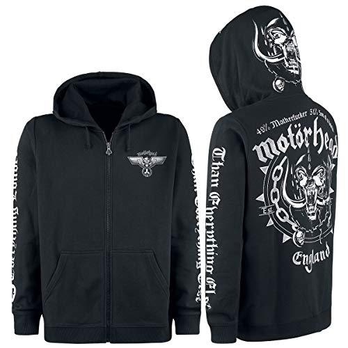 Motörhead England Männer Kapuzenjacke schwarz XXL 70% Baumwolle, 30% Polyester Band-Merch, Bands