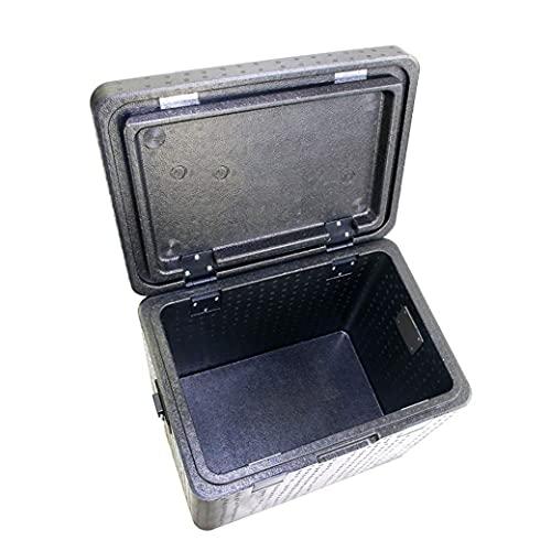 N\C Enfriador portátil, Caja de conservación Fresca Caja de Espuma EPP, Enfriador de Alimentos, Caja de Cadena de frío logística 37L LKWK