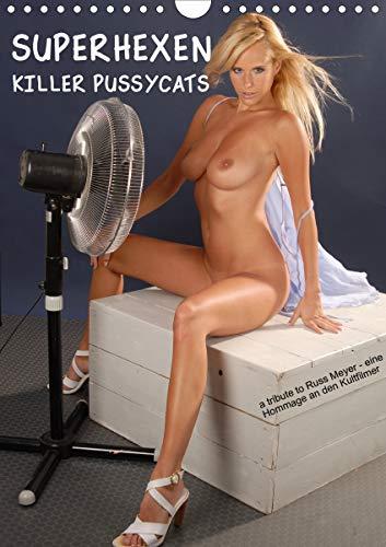 SUPERHEXEN - Killer Pussycats (Wandkalender 2021 DIN A4 hoch)