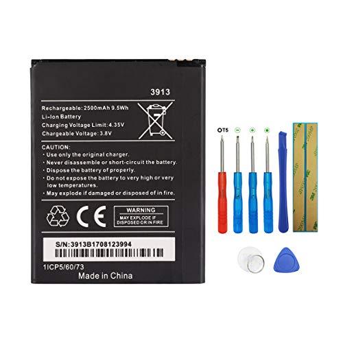 Swark - Batería 3913 compatible con Wiko Robby/Kenny/Jerry 2/Lenny 4/Lenny 4 Plus/Harry con herramientas