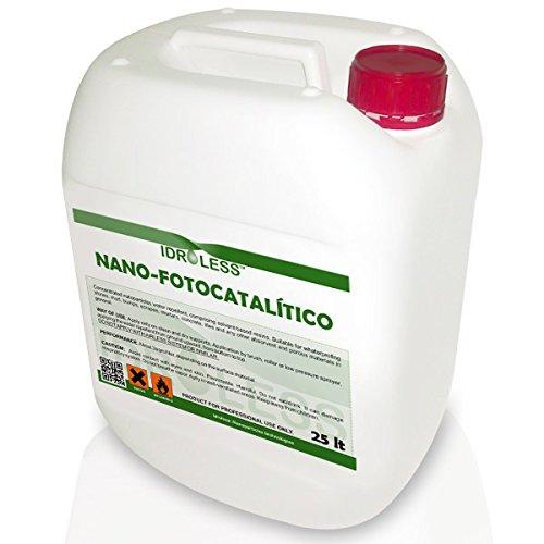 nano-fotocatalítico repellente di acqua idroless–25ltr