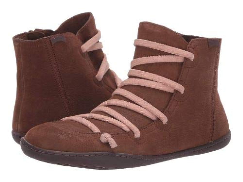 Camper(カンペール) レディース 女性用 シューズ 靴 ブーツ レースアップブーツ Peu Cami - 46104 - Medium Brown [並行輸入品]