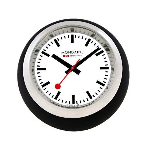 Mondaine Reloj Mesa analogico de cuarzo en Color negro , A660.30335.16SBB , 60 MM