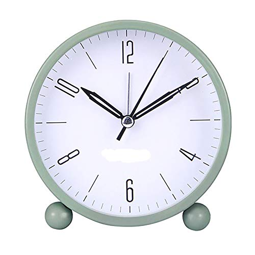 XQK Analógico Reloj Despertador, Multicolor con Pilas del R