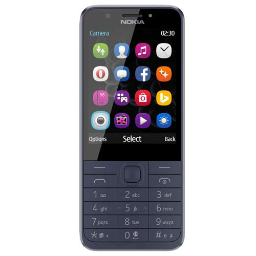 Nokia 230 Handy, blau, Blau, Dual SIM