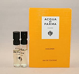2 Acqua Di Parma Colonia Eau De Cologne Spray Vial Sample .05oz/1.5 Ml Each