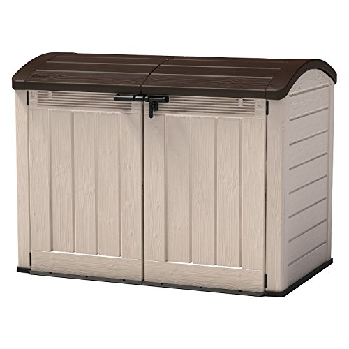 Keter Store-It-Out Ultra Trash Can Shed