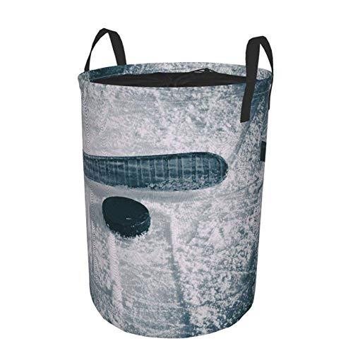 Bolsa de lavandería Oxford, bolsa de ropa plegable para deportes de hockey grande con cierre de cordón en la parte superior