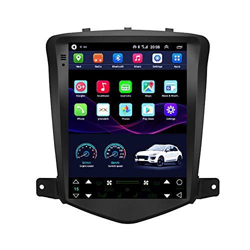 Kilcvt Auto GPS Navigation Stereo, 9 Zoll/Android 10 Auto Multimedia Radio Player, Für Chevrolet Cruze 08-13...