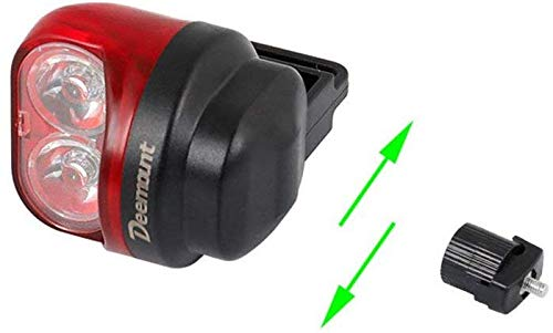 Bike Lampen- Magnetic Power Generation wasserdichtes Fahrrad super helles Rücklicht LED-Fahrrad-Rücklicht leicht Clips auf Rot Rücklicht Powerful Optimum Radfahren Sicherheit Mountain Road Racing Reit