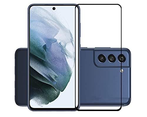 TLING 3 Piezas Protector Pantalla Compatible con Samsung Galaxy S21 FE, película Protectora para Samsung Galaxy S21 FE, dureza 9H, Alta Transparencia, sin Burbujas, antihuellas