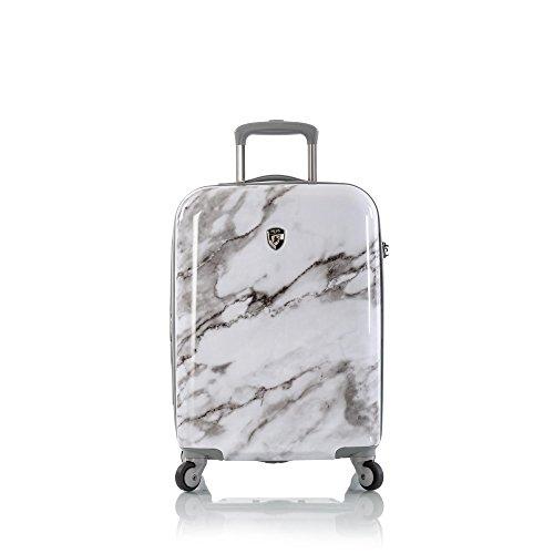 Heys America Unisex Carrara Marble 21' Spinner (White)