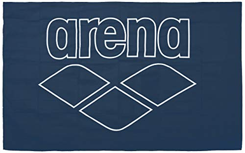 ARENA Mikrofaser Handtuch Pool Smart, Navy-White, 150x90cm
