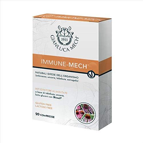Gianluca Mech Gianluca Mech - Immune Mech, Integratore Alimentare - 20 Bustine da 1,2 Gr - 200 g