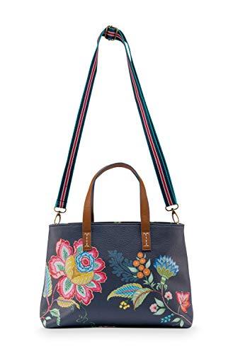 Pip Studio Einkaufstasche Jambo Flower | Blue - Small