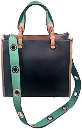 Sondra Roberts Top Handle Bag, Navy