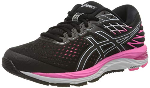 Asics Damen Gel-Cumulus 21 Running Shoe, Black/Black, 40.5 EU