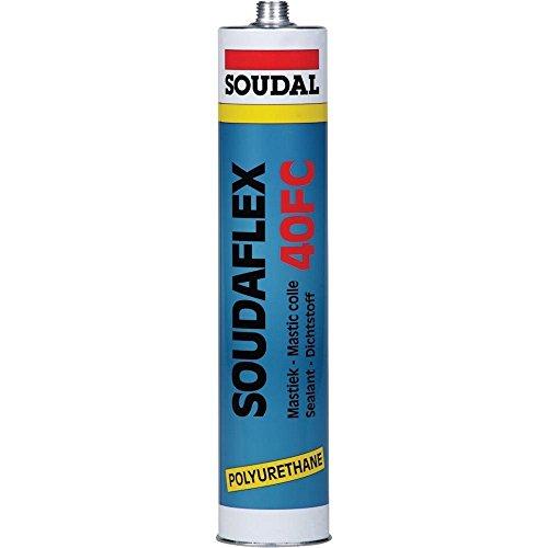 Soudal 102640 PU-Dichtstoff Soudaflex 40FC 310ml in grau