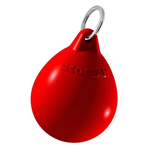 Ocean schwimmfähiger Fender Schlüsselanhänger, Farbe:rot