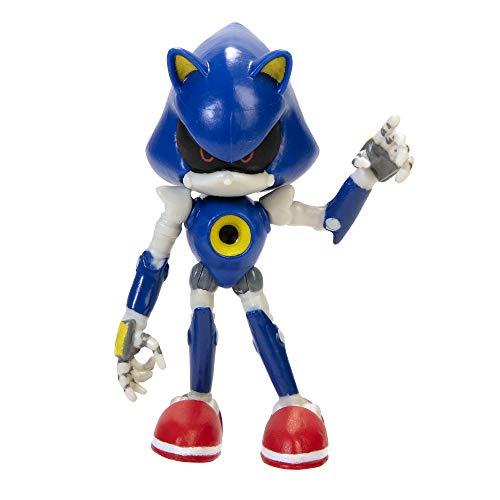 SONIC The Hedgehog - Jakks Sonic bewegliche Action Spielfigur 6 cm, Wave 2, Minipuppen, 403744