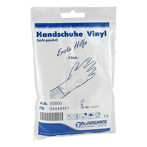 HANDSCHUHE Anti Aids Vinyl 4 St