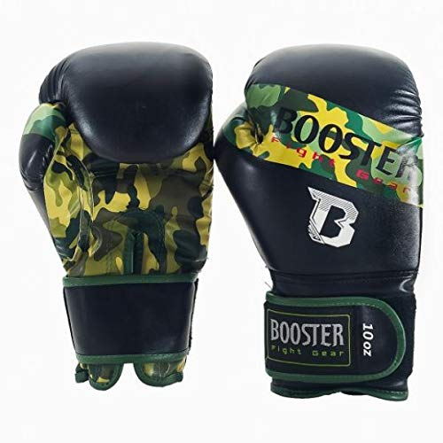 Booster Boxhandschuhe, BT-Sparring, camo, Boxing Gloves, MMA Muay Thai Kickboxen Size 10 Oz