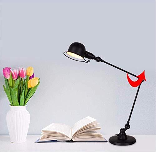 LG Snow Moderna Mecánica Doble Lámpara Nórdica Simple Mecánica de la Moda de la Personalidad de Brazo Largo LED de la Luz de la Noche de Regalo Decorativo Ángulo Ajustable