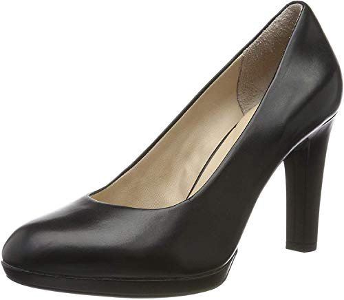 Rockport Damen ALLY PLAIN PUMP Pumps, Schwarz (Black Burn Calf), 40 EU