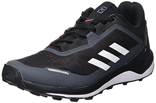 adidas Terrex Agravic Flow K, Zapatillas de Trail Running, NEGBÁS/Balcri/Rojsol, 36 EU