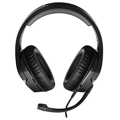 YYZLG Casques de Jeu: Mousse à mémoire HyperX Signature Confortable, Casque de Jeu pour Ordinateur, Microphone pivotant Silencieux