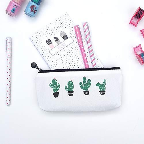 Neceser Cactus // Ideal cómo porta todo // Estuche para el colegio // Impermeable // Cabe el móvil, las llaves y lo que necesites // Sugerencia de regalo