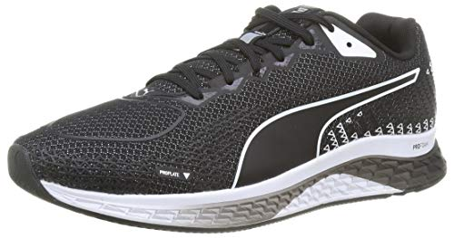 PUMA Speed SUTAMINA 2, Zapatillas para Correr de Carretera Hombre, Negro Black White, 48.5 EU