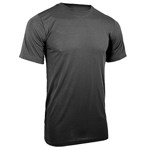 Mil-Tec Shirt sous-vêtement COOLMAX, nero - Noir, m