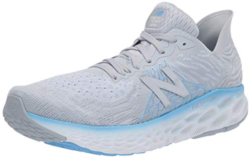 New Balance Women's Fresh Foam 1080 V10 Running Shoe, Light Cyclone/Team Carolina, 9.5
