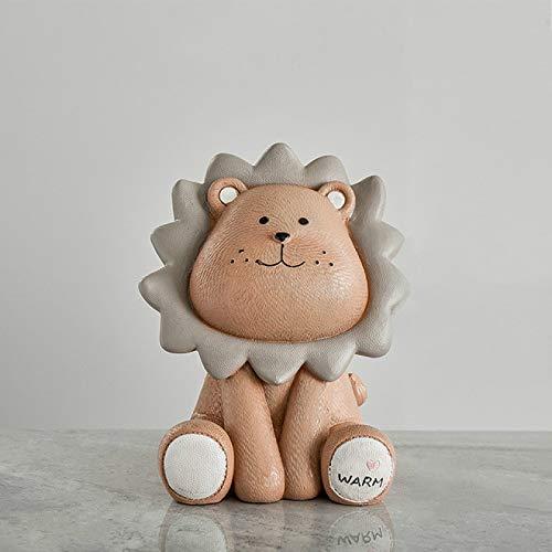 Alexny Hucha, león de Dibujos Animados Lindo Creativo Tarro de Monedas niños niños alcancía jardín de Infantes Lindo Regalo Hucha