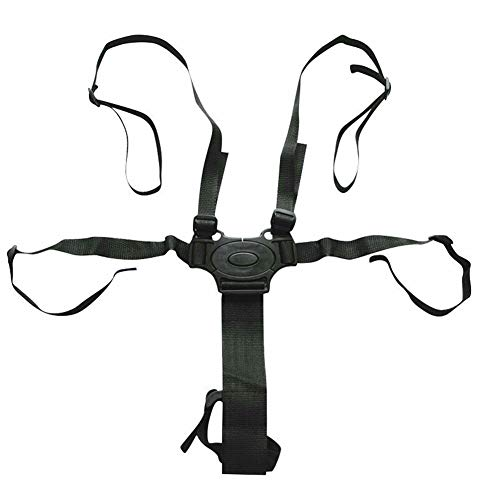 Seggiolino, cintura regolabile, cinghia di sicurezza bambino a 5punti con spalline universale per passeggino seggiolone passeggino Buggy, Come...