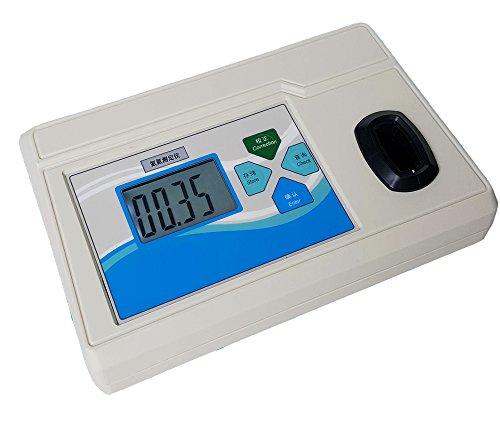 Analizador de nitrógeno de amoniaco de escritorio, pantalla grande LCD, detector de amoniaco y nitrógeno, monitor de concentración, rango de medición: 0,02-25 mg/L, AD-83T