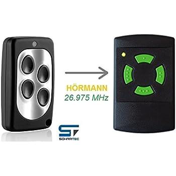 b-ware Bosch Somfy Handsender 4-Kanal mit 26,975 MHz  Funk Fernbedienung 26 27