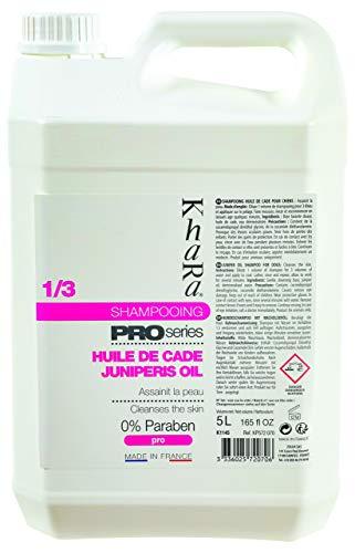 Khara Pro Series Shampooing Huile de Cade pour Chien 5 L